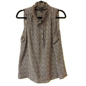J. Crew Sleeveless Blouse
